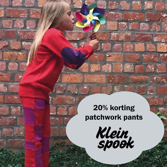 Beeld van MaM patchwork pants