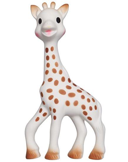 Beeld van Sophie de giraf