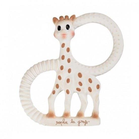 Beeld van Sophie de giraf bijtring