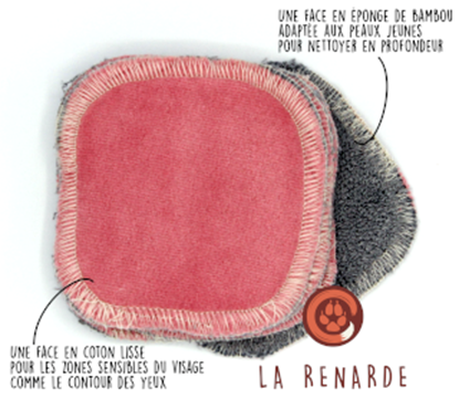 Afbeelding van La Renarde cleansing pads