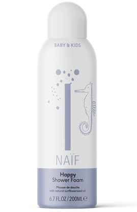 Afbeelding van NAÏF baby happy shower foam
