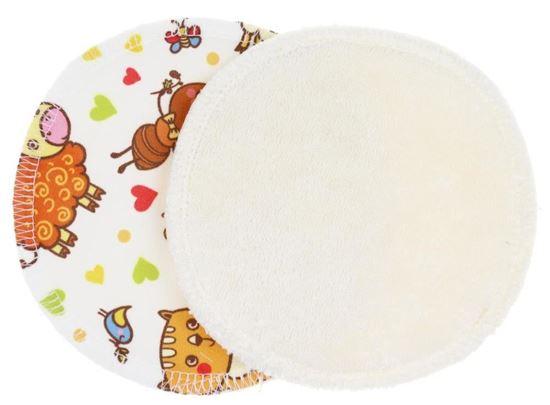 Beeld van Anavy borstvoedingspads print