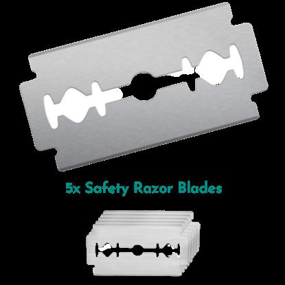 Afbeelding van Wondr Safety Razor dubbelzijdige mesjes (5x)